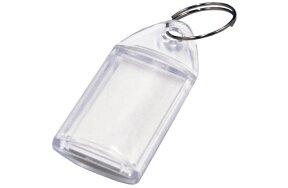 PLEXI GLASS KEY RING 5x4cm